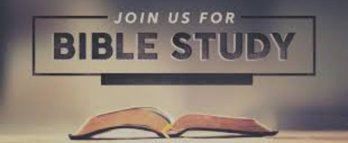 Join us for Bible Study signate