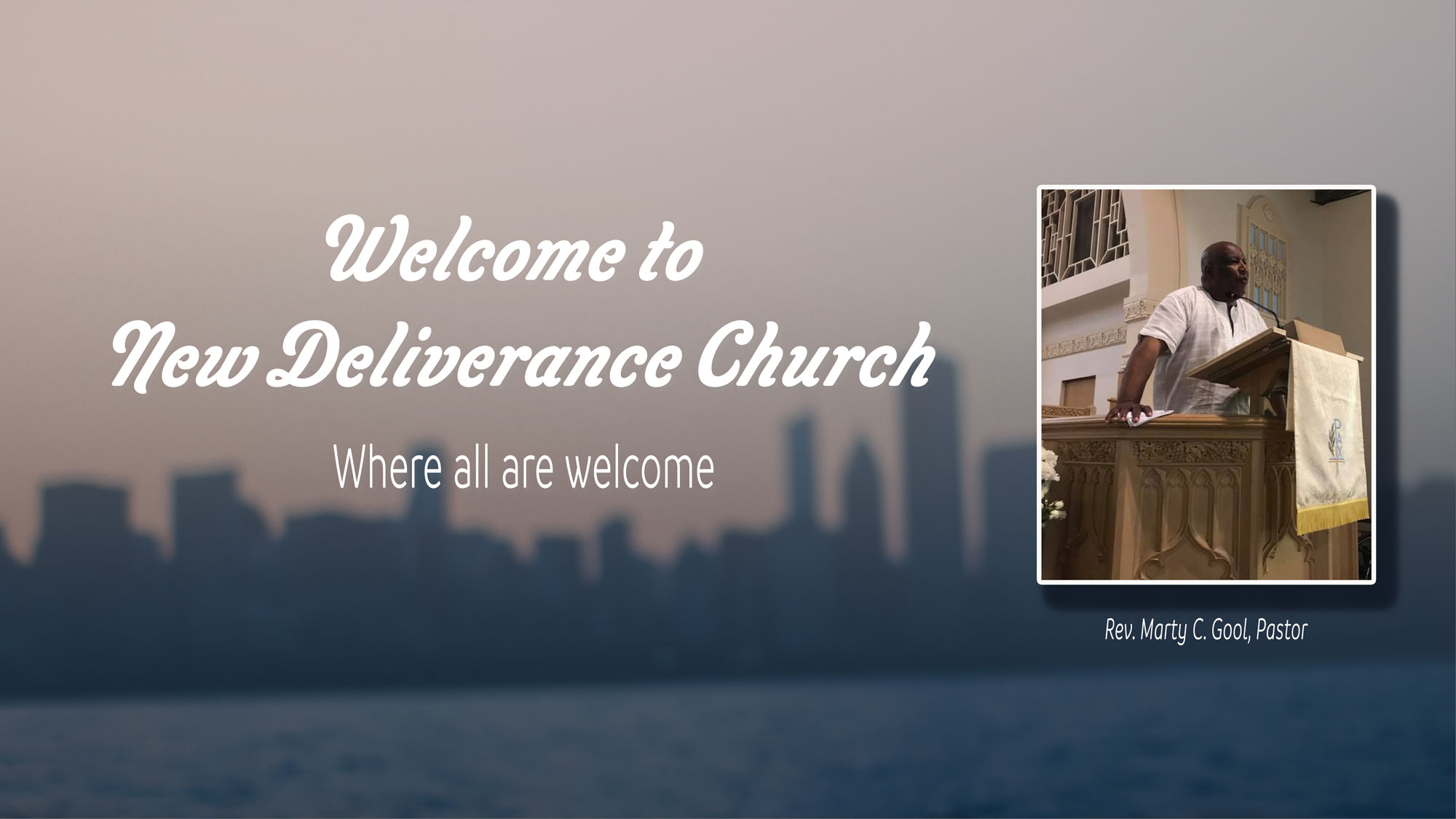 Welcome to New Deliverance Church